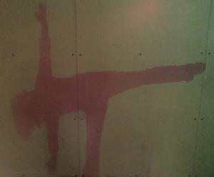 BeckyT Yoga ardha chandrasana photo